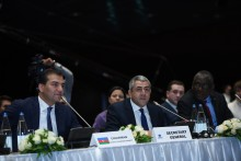 World Tourism Organization Meeting in Baku, Azerbaijan